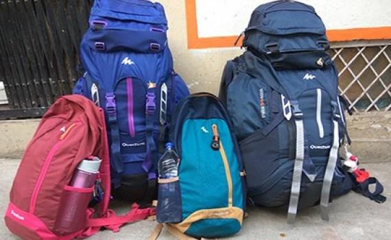 sac pour un tour du monde