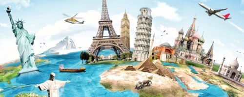 voyager le monde